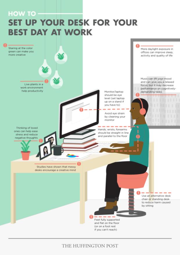 10 ways to maximize desk design | @meccinteriors | design bites